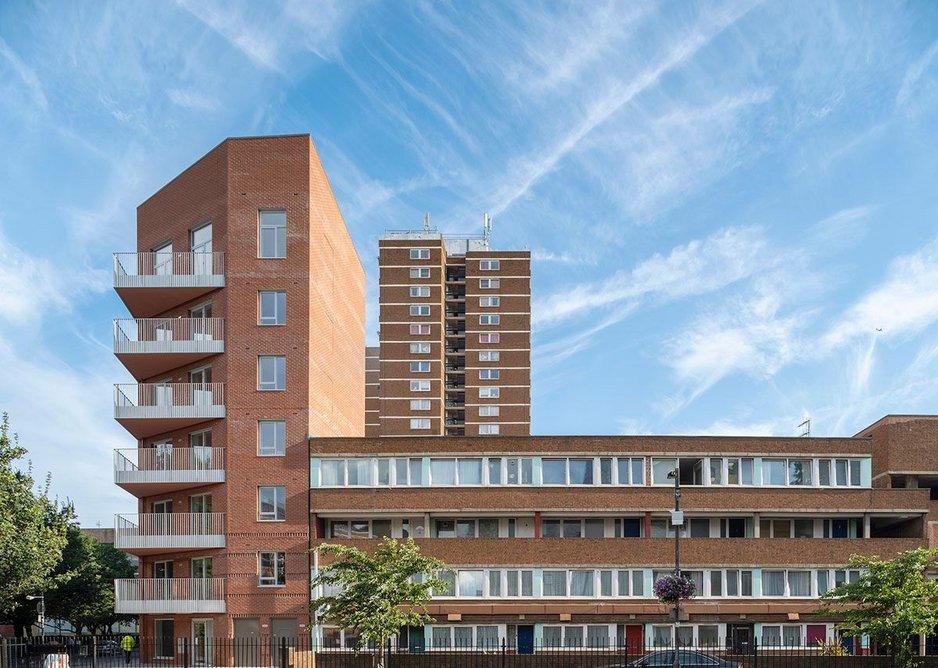 Rather than encroaching, Marklake Court has completed the estate master plan.