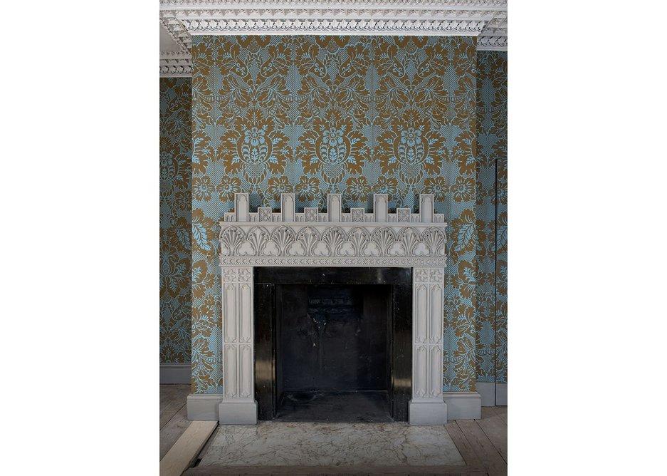 Fireplace in Mr Walpole's Bedchamber