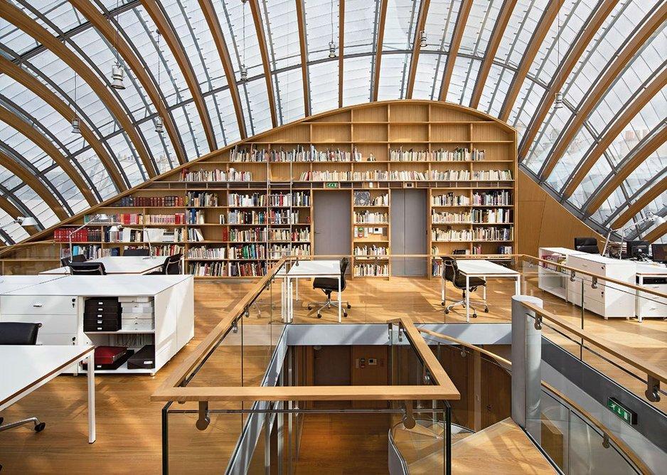 Renzo Piano Building Workshop, Jérôme Seydoux Pathé Foundation, Paris, 2014