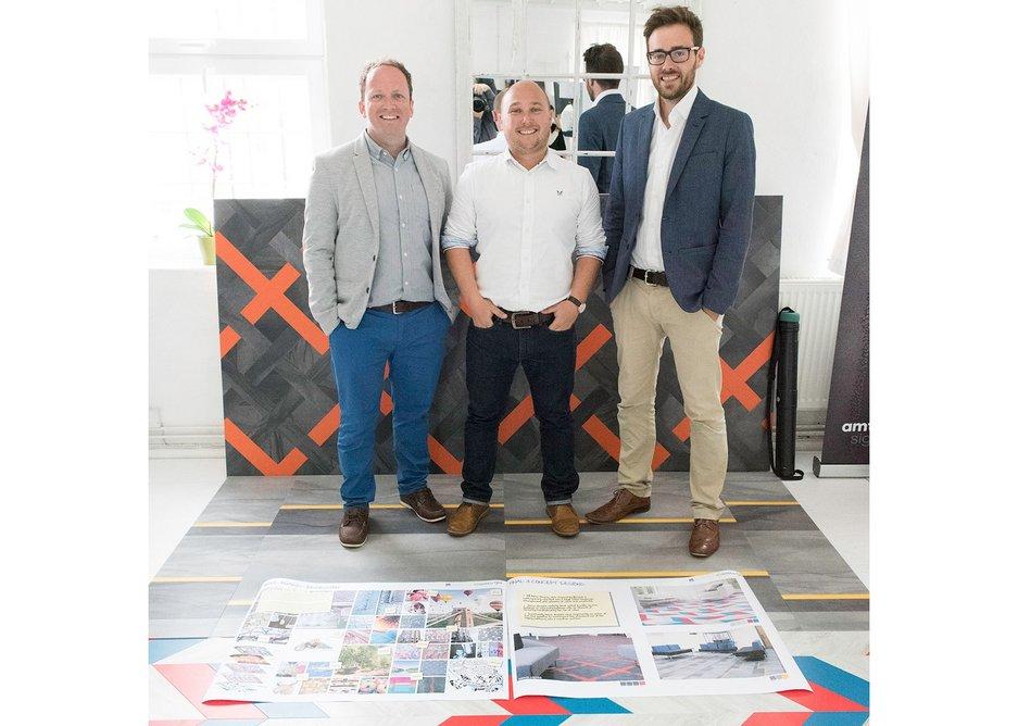 Robert Thorley, Simon Baker and David Crozier of Willmore Iles.