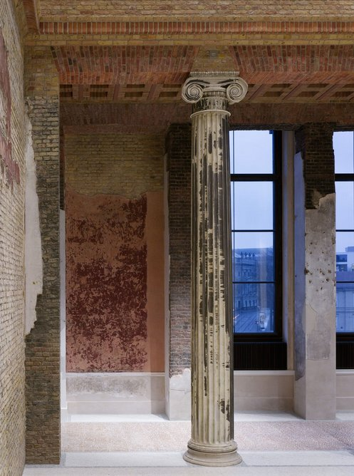 The Neues Museum, Berlin, Germany, renovated by David Chipperfield Architects and Julian Harrap Architects, 2009.