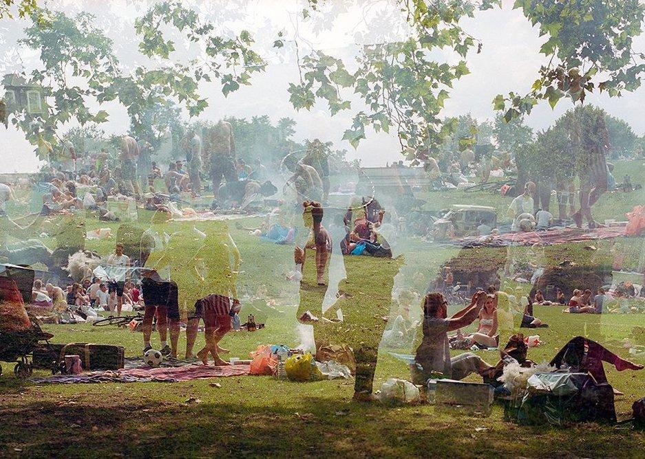 Simon Terrill: 'London Fields', 2015.