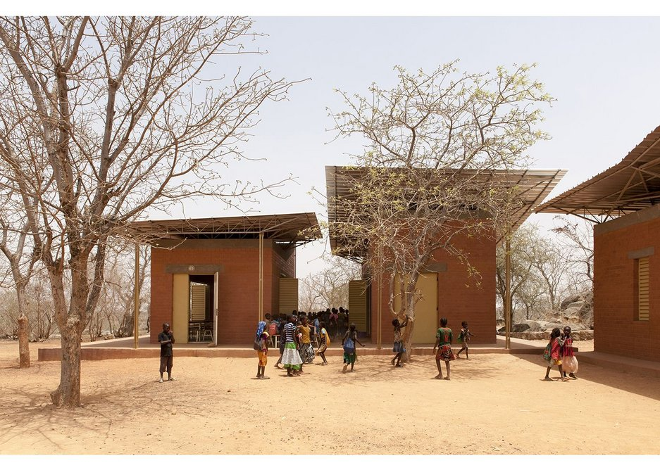 Originally conceived as a centre for African film and theatre, massive flooding turned the Opera Village into a residential and educational facility. It is still under construction.