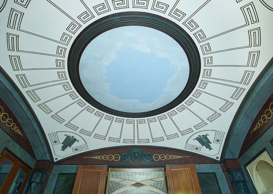 Breakfast room, Pitzhanger Manor, Ealing, London (2019) designed by John Soane and reworked by Jestico + Whiles and Julian Harrap Architects.