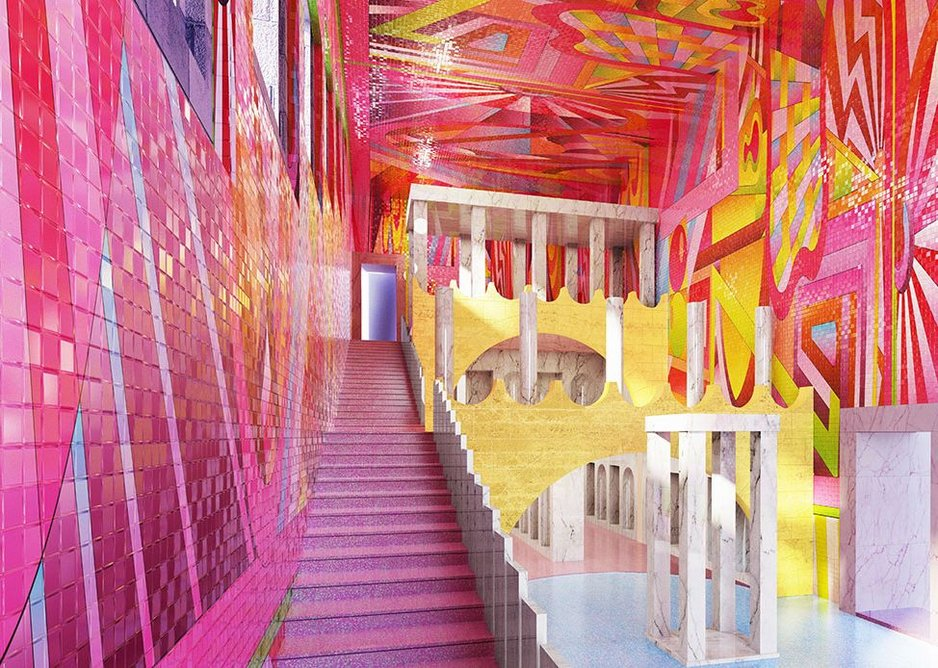 A project by artist and designer Adam Nathaniel Furman, who will be appearing on the Brave New World talks panel at Architect@Work 2019.