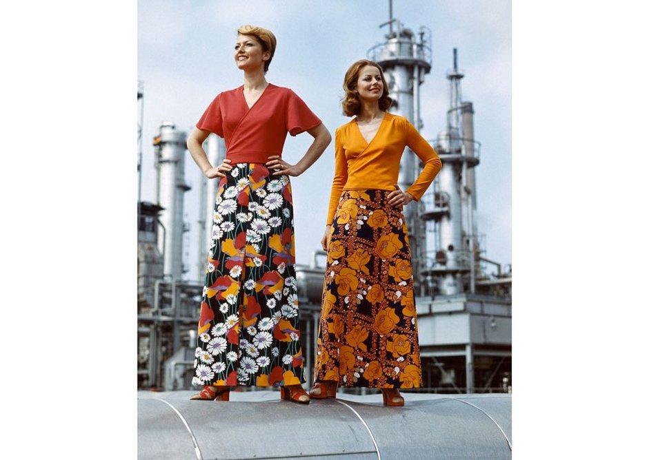 VEB Textilkombinat Cottbus, GDR women's fashion (1978).