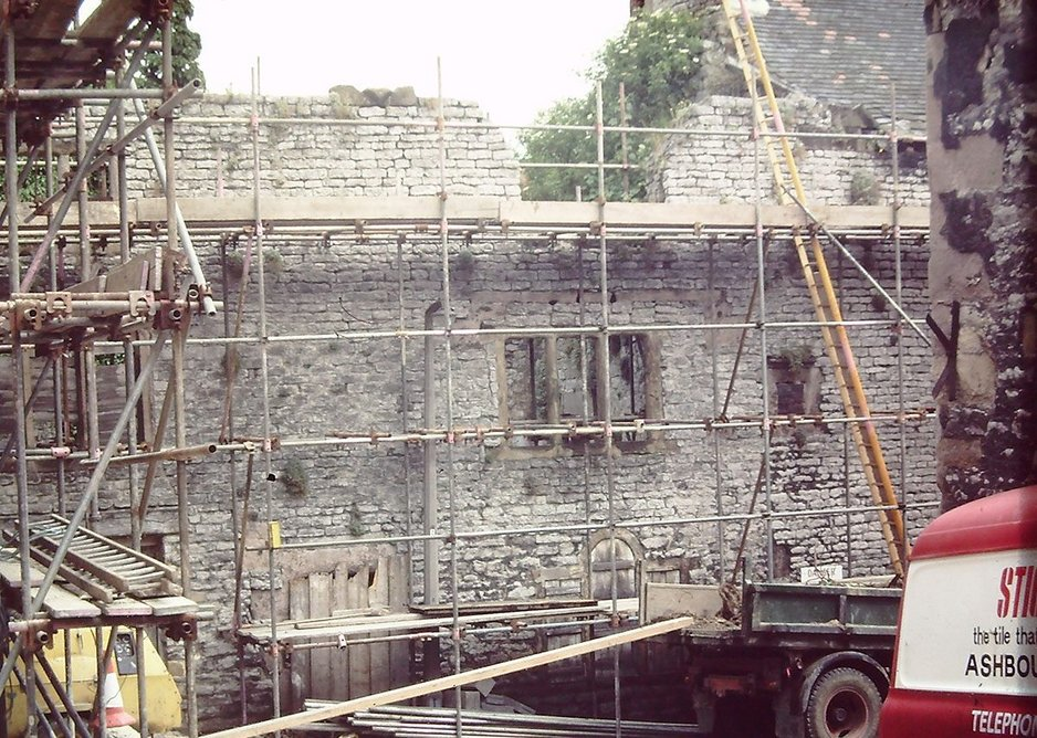 The restoration of the 17th century Hopkinsons House in Wirksworth was the catalyst for the town regeneration. Credit DHBT