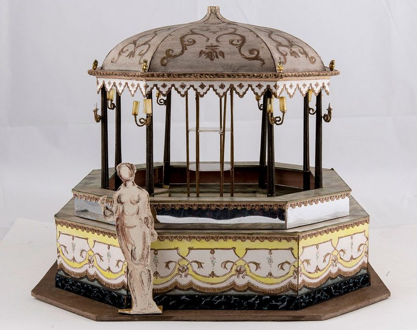 Oliver Messel, Model of Bar for the Great Octagon, Bath Assembly Rooms, 1961.