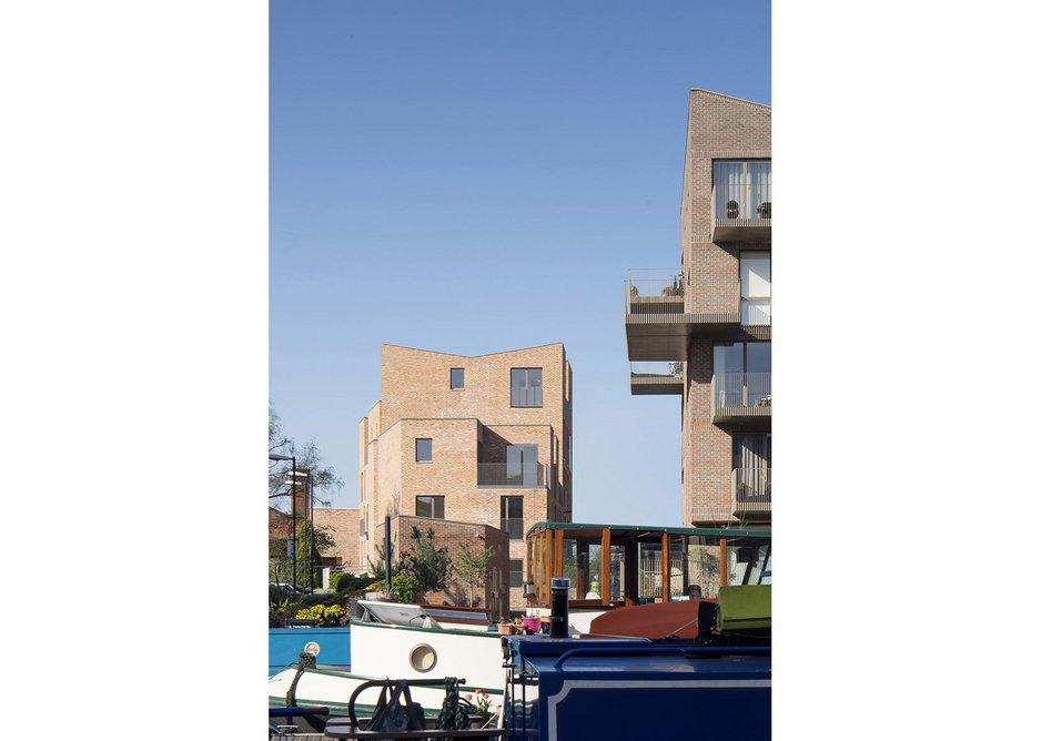 Brentford Lock West, London by Mikhail Riches Ltd with Cathy Hawley.