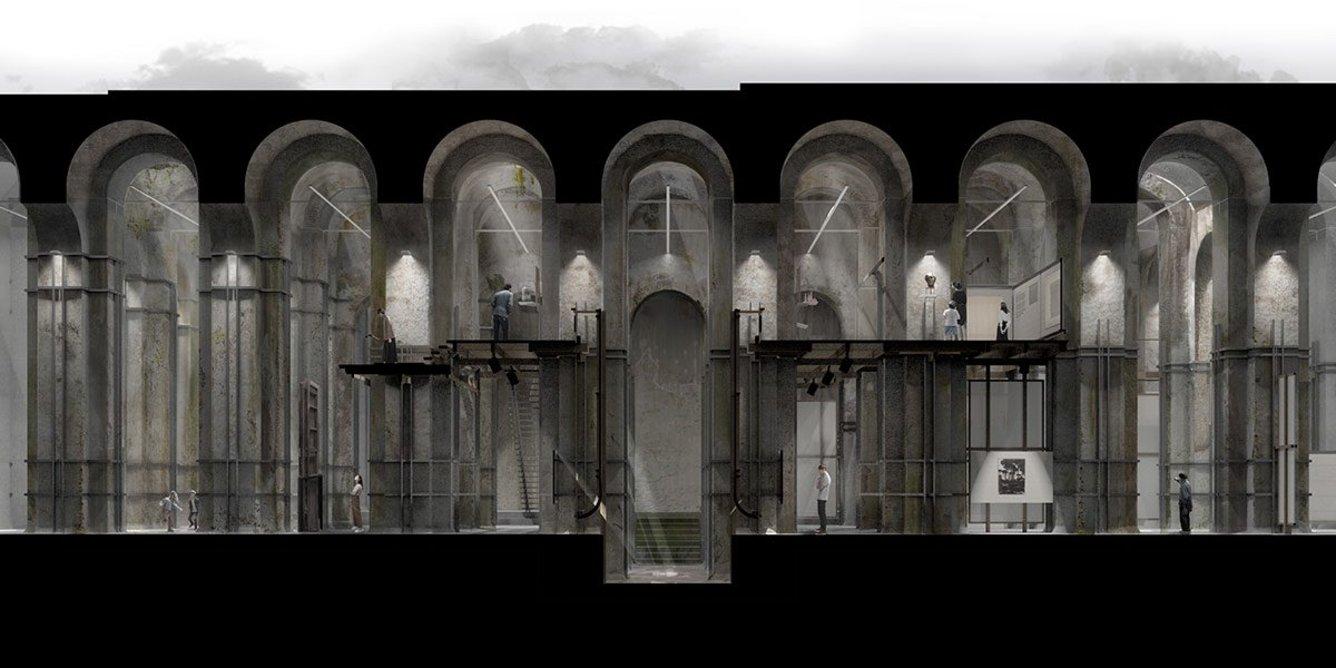Adapting the Ruins of Piscina Mirabilis.