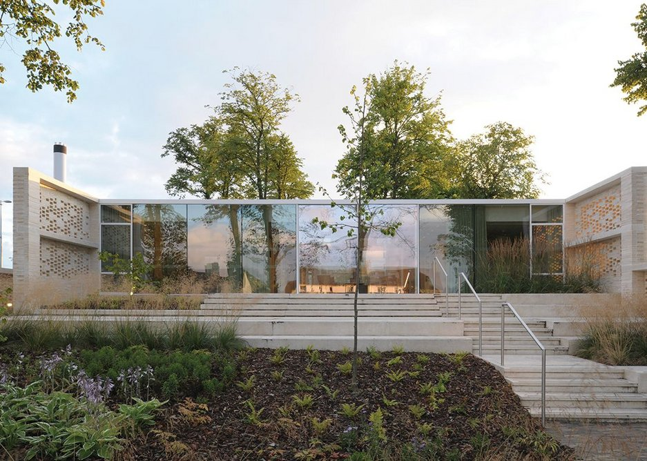Maggie's Lanarkshire by Reiach and Hall Architects.