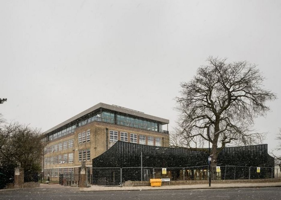 Streatham and Clapham High School phases 1 and 2.