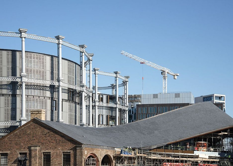 Coal Drops Yard seen in the context of the wider Argent development.