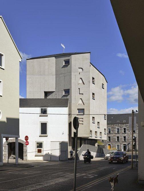 Pálás Cinema, Galway, Ireland, designed by dePaor, 2019.
