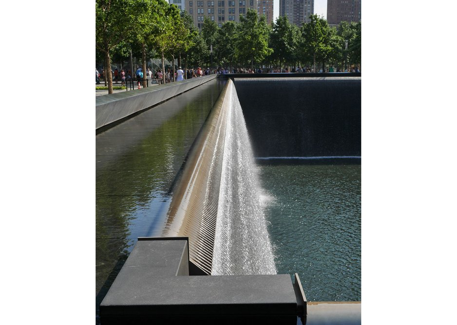 Michael Arad and Peter Walker's poignant memorial landscape.