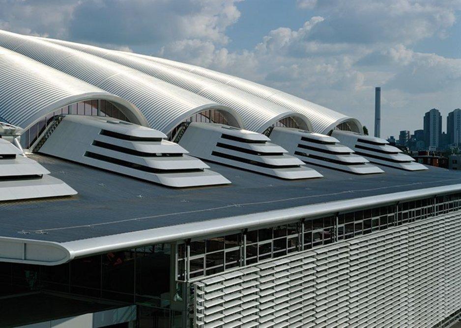 2001: Frankfurt, Messehalle, Frankfurt, Germany.