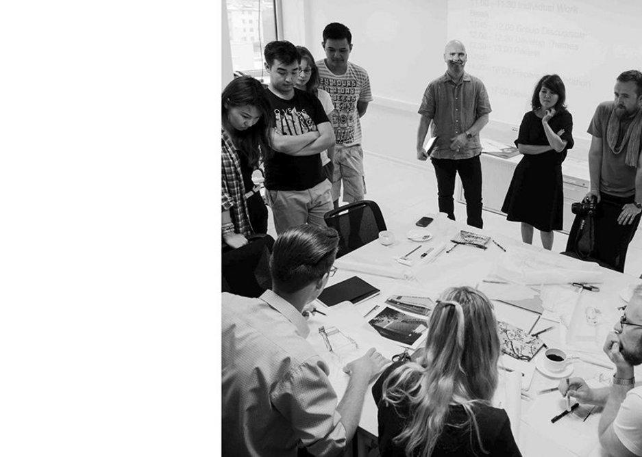 Atomik Architecture: Workshop on the theme of refurbish, Almaty