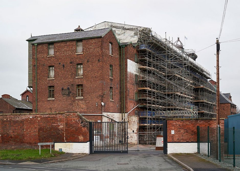 It has now moved on to refurbishing the 1797 grade I listed main mill and grade II listed kiln, for public and office use.
