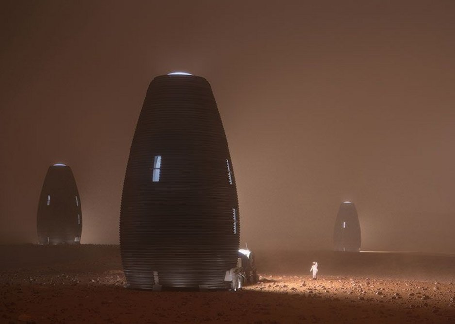 Marsha protects humans from the harsh Martian environment, including the frigid temperatures, dust storms and radiation.