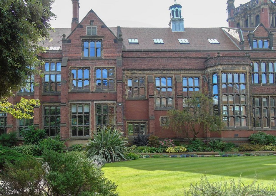 The new windows have 'significantly improved the thermal, acoustic and aesthetic performance', says Newcastle University senior project manager Stephen Pyle.
