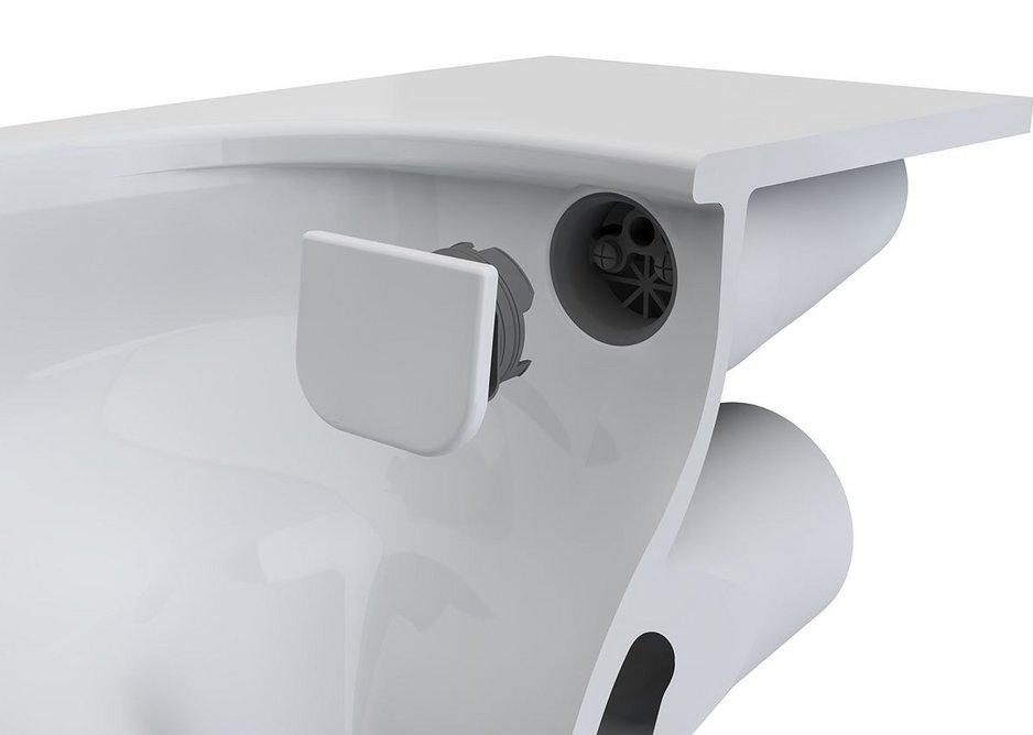VitrA  RIM-EX M-Line WC with ceramic water divertor