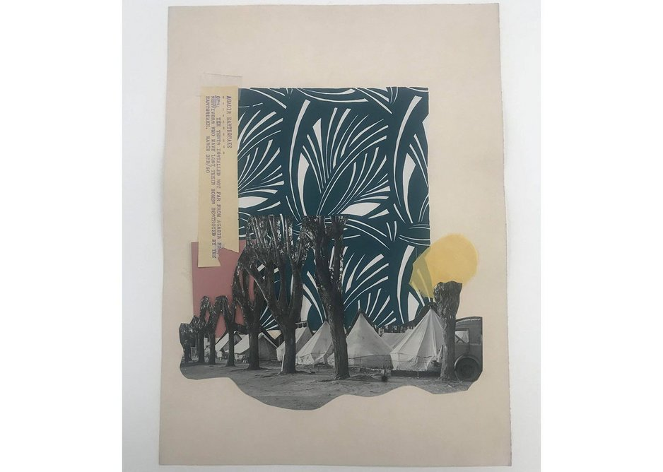 Collage © Yto Barrada, courtesy Pace Gallery; Sfeir-Semler Gallery, Hamburg, Beirut; and Galerie Polaris, Paris