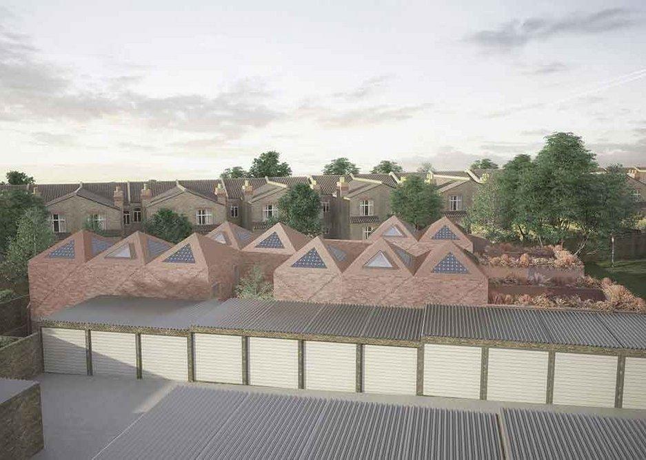 Pyramid roofs