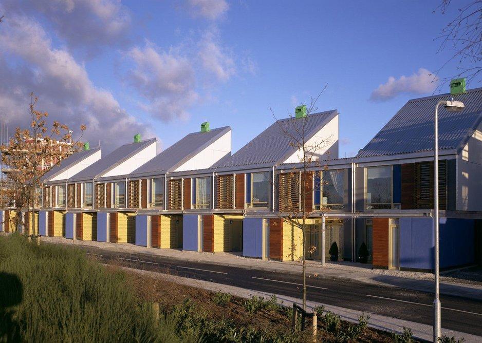 An attention to thresholds runs through their housing work from Greenwich Millennium Village time.