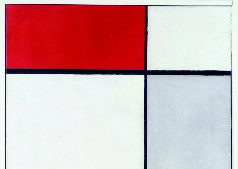 Piet Mondrian – Composition with Red, Yellow and Blue, 1927.