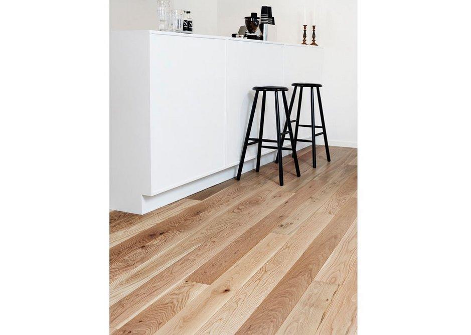 Solid oak boards