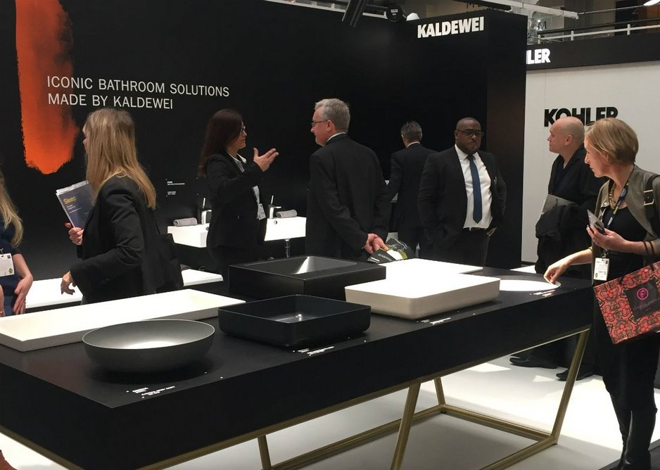 Kaldewei at Sleep 2017 - an event for the designers, hoteliers and restaurateurs of Europe's top hospitality projects.