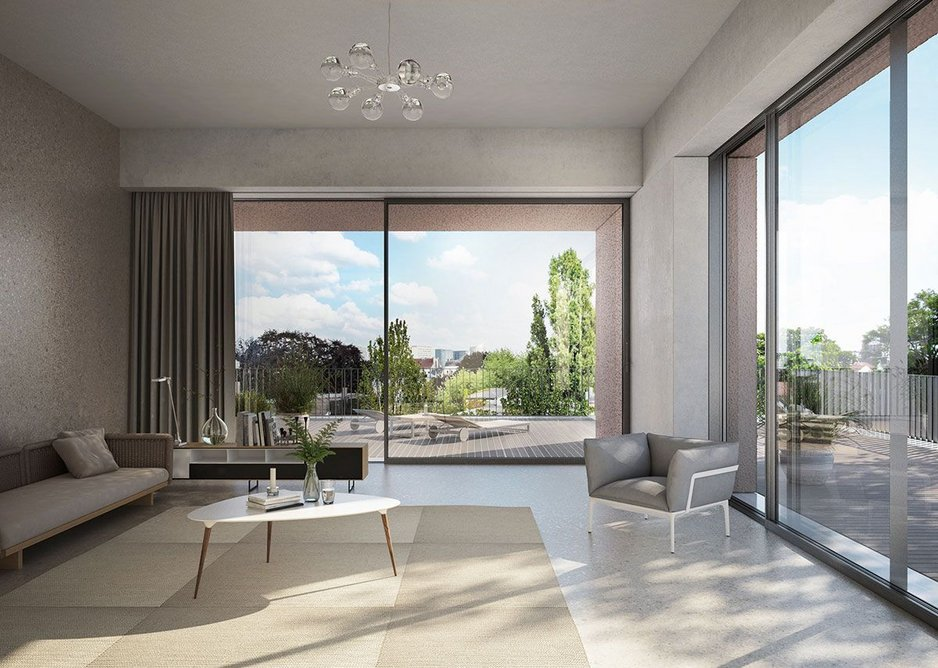 Schueco ASE 60 and 80 sliding doors offer architects tailored, single-source glazing solutions.