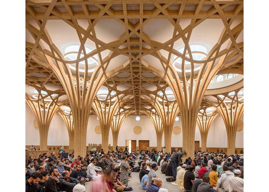 Cambridge Central Mosque.
