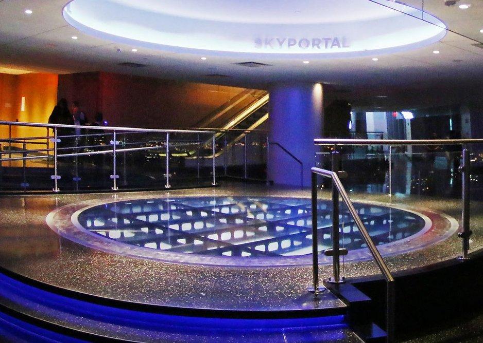 HDI Circum railing system at One World Trade Center, New York. Architect Skidmore, Owings & Merrill.