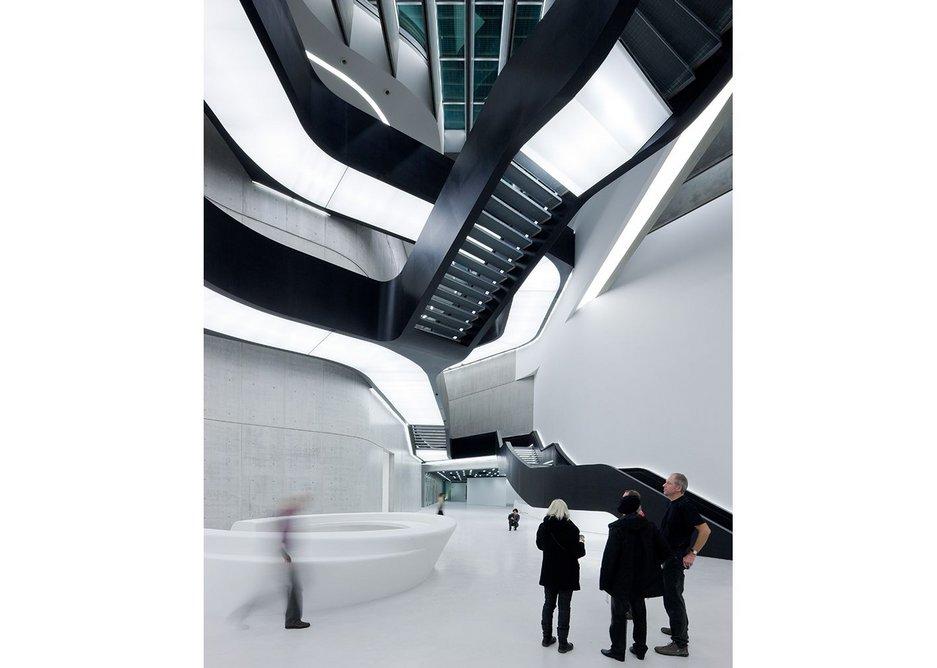 MAXXI Museum of XXI Century Art, Rome.