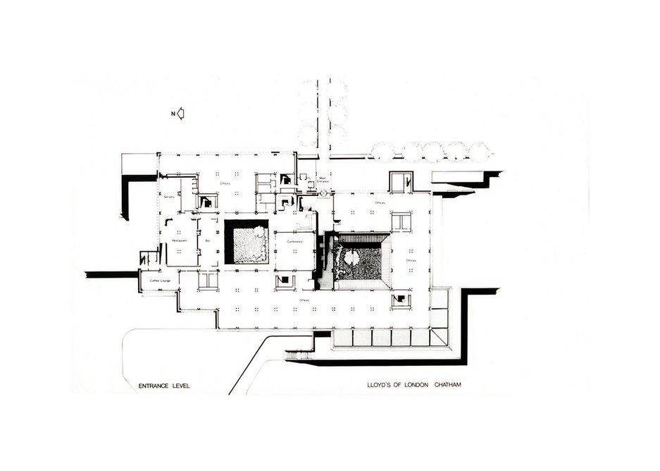Plan of Gun Wharf, Chatham.