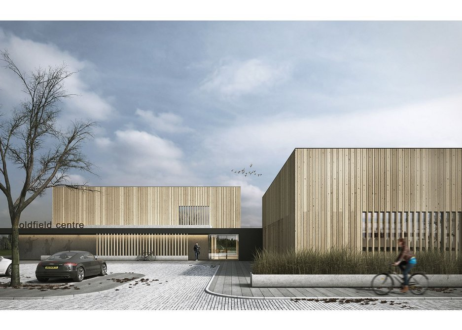 The Oldfield Centre by Sixtwo Architects, a new community and rowing centre in Altrincham.