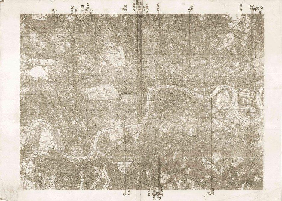 Shin Egashira London (map) 1988-1993.