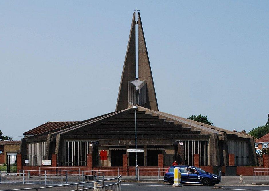 Church of St. Thomas More, Birmingham Sheldon, 1968-69.