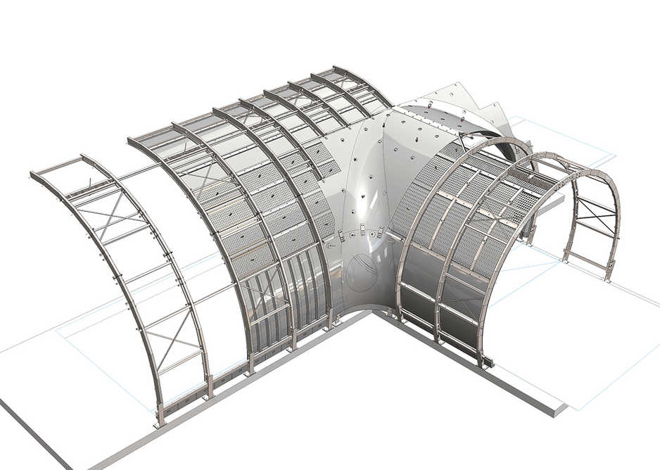 The digital model for designing linings to tunnels for Crossrail was used to drive component manufacture, logistics and assembly.