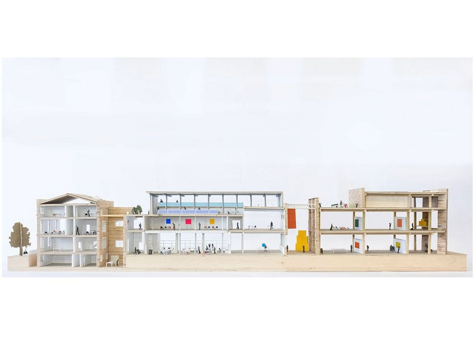 Haworth Tompkins also received a special mention for its proposal.