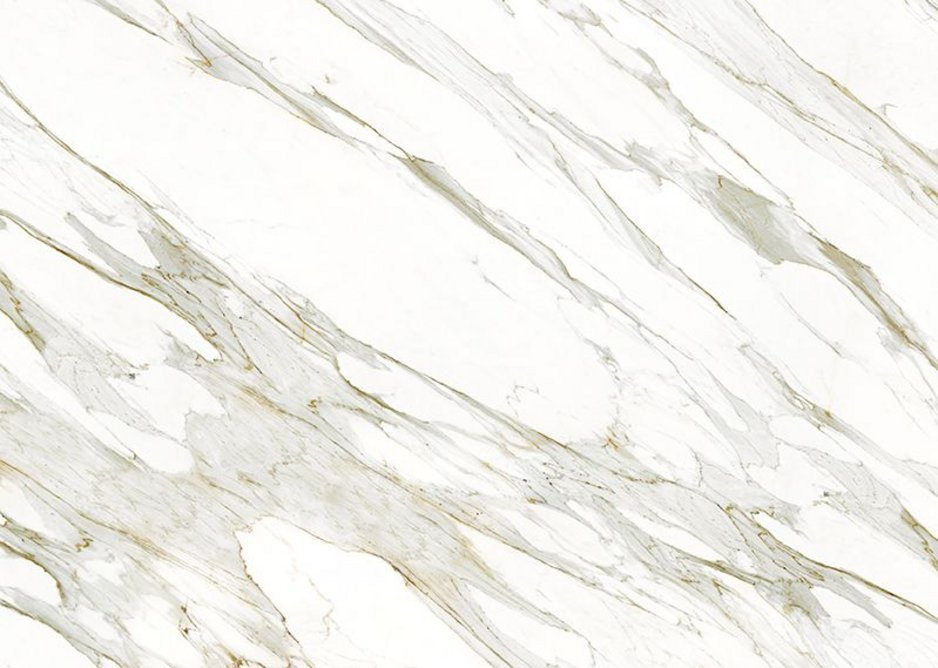 Calacatta Gold - available in 6 and 12mm, Polished and Silk finishes, and in 3200x1500mm