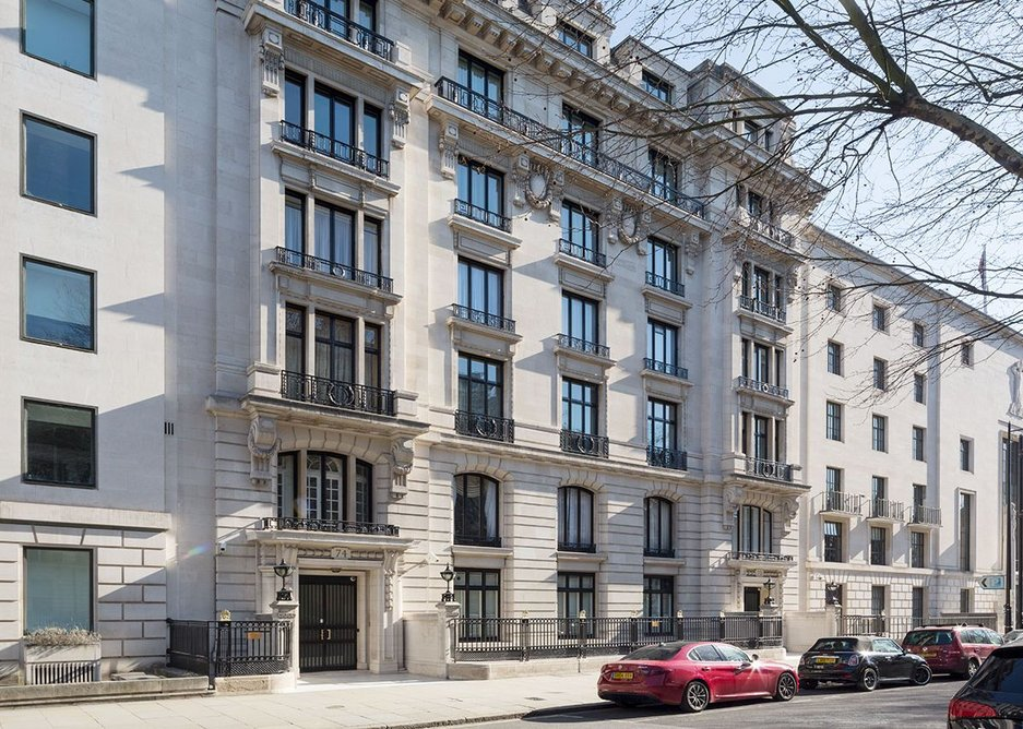 The 1908 Verity building on Portland Place, a magnificently Parisian pile. Credit Richard Davies