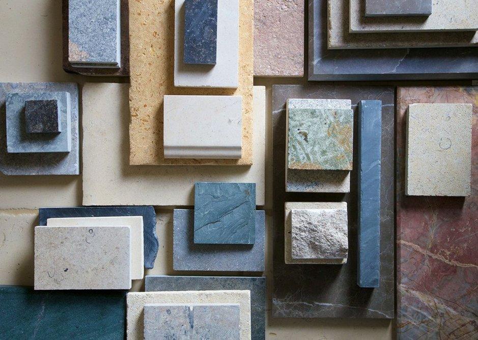 Artorius Faber stone samples