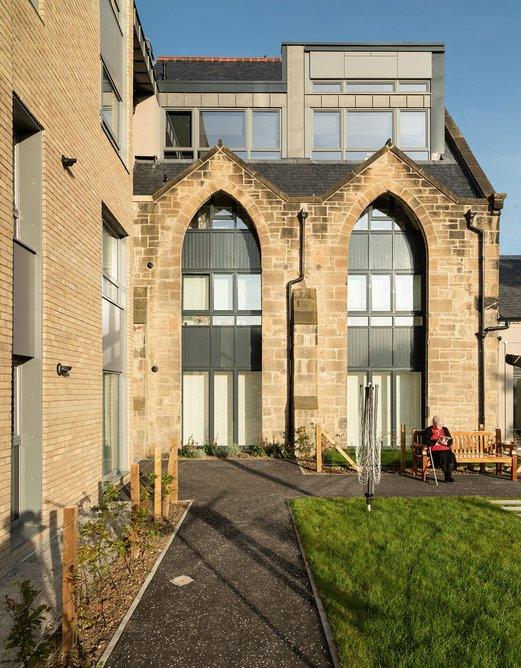 Passivhoos, developed by John Gilbert Architects with Stewart & Shields, brings low energy costs to social housing.