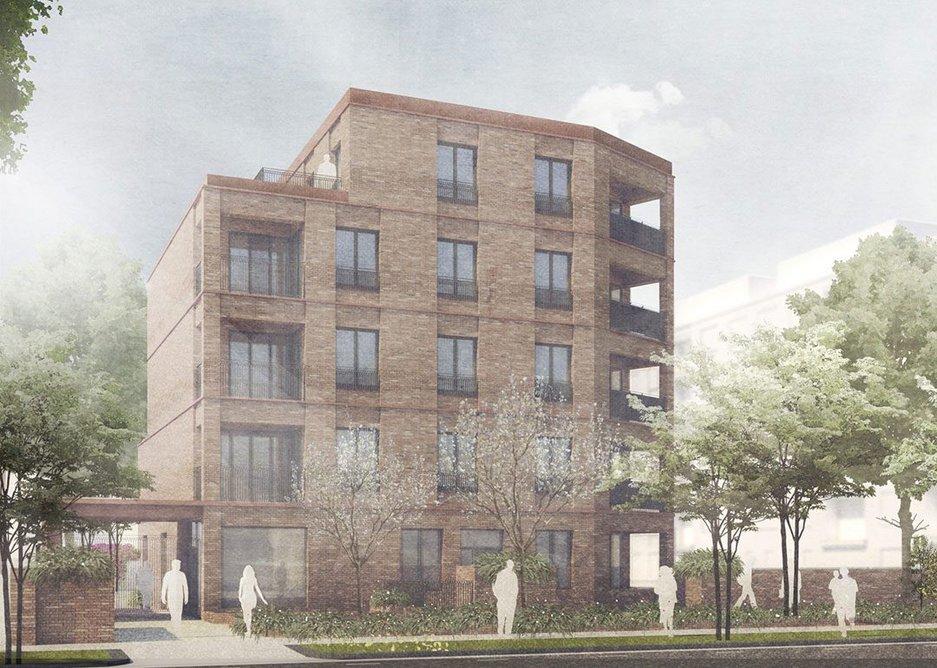 Social Housing, Lambeth by FBM Architects.