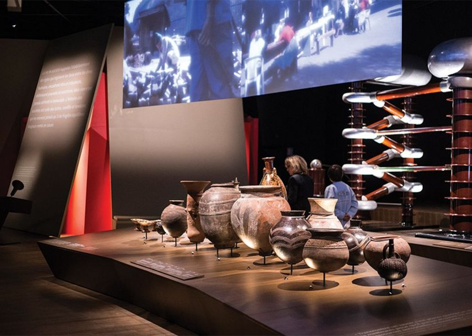 Exhibition scenography has been put in the hands of various designers and each has a distinct feel.