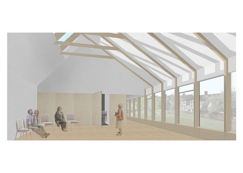 Quaker Meeting House, Ludlow, 2019, Kate Darby Architects.