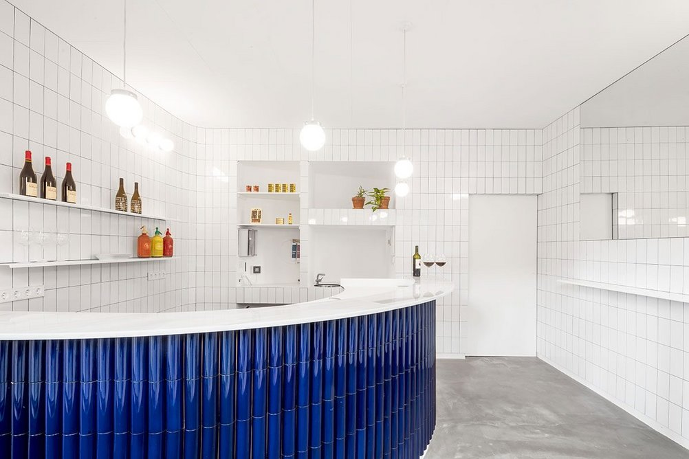 Winner of the Interior Design category 2020:  The Atlantis Gastrobar by Arantxa Manrique Arquitectes.