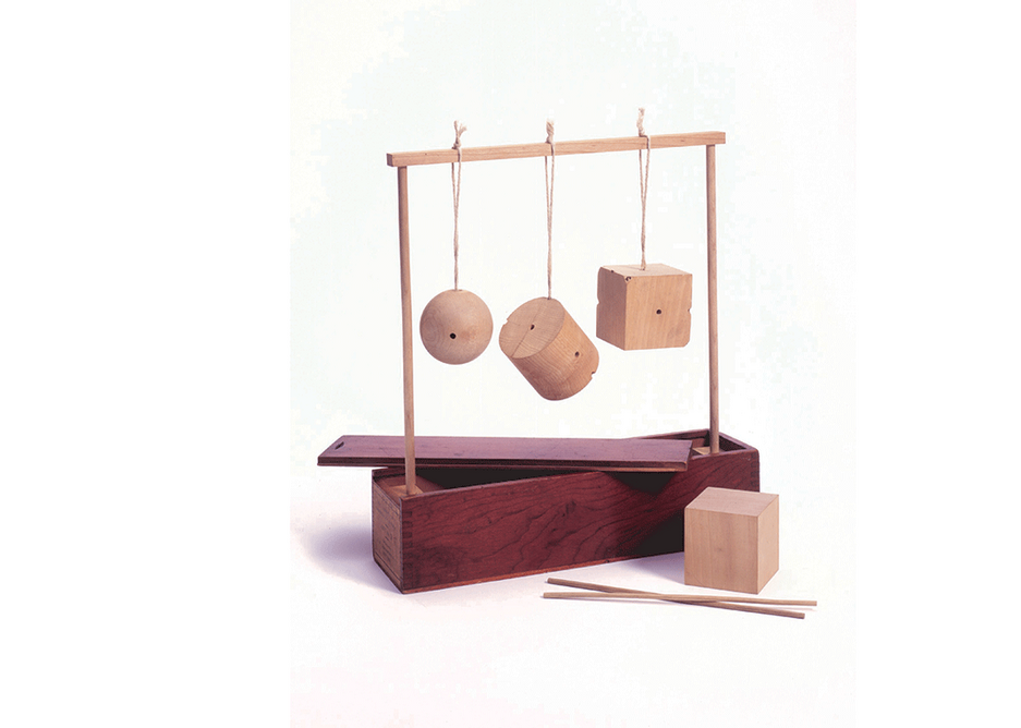 Kindergarten toys. Reprinted from Inventing Kindergarten by Norman Brosterman, collection of Elyse and Lawrence B. Benenson